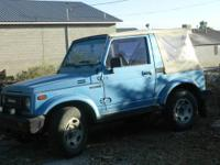 ?1987 Suzuki Samari asking 3800.00 runs great, just