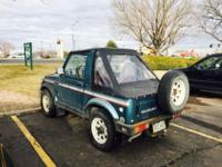 Two owner 4 wheel drive Suzuki Samurai 1988 and well