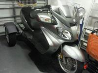 2011 Suzuki Bergman Trike 650CC. This scooter is the