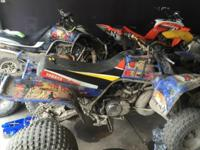 I HAVE FOR SALE MULTIPLE ATV'S FOR SALE. THE FIRST ONE