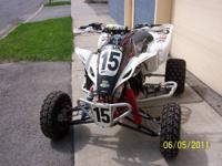 Have two four wheelers. One is a Suzuki Z400 chassis,