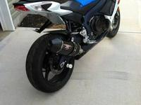 2011 Suzuki GSXR 750 with only 1894 miles. Bought new