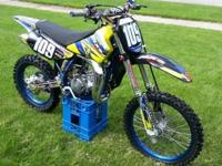 2010 Suzuki RM 105 Supermini. This is a National Level