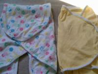 Excellent Condition. *Yellow Swaddle Wrap: $4 *White