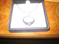 Beautiful heart necklace given to me by my ex,do not