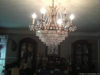 """REDUCED"" BEAUTIFUL SWAROVSKI CRYSTAL CHANDILERS MUST"