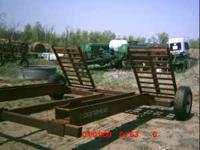 Used Donahue swather trailer, good shape, tires are