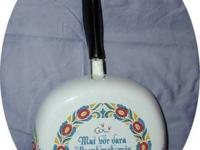"I have for sale a vintage 8"" Swedish skillet which"