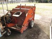 Jacobsen Sweeper with 18 hp motor, large capacity,