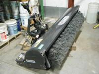 "Sweepster Model M24C6A. 72"" width. Uses 3 Point hitch."