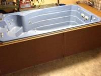 Type: pool/ spaprice reduced on swim spa reconditioned