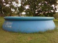 Swimming Pool - 18' round - Included - New Aqua