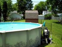 "This is a nice 20' swimming pool and is 54"" inches tall"