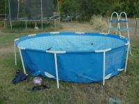 We are selling this swimming pool and it is in good