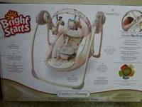 swing for a baby used for short time it has music and