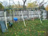 i have a medal swing set good condition you take down