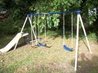 High end Swing Set Great price for the buy! These