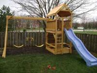 Spring is here get your order in now for that swing set