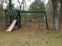 Swing set system by Childlife.  This swing set is an