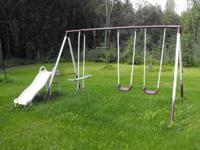Outdoor Swing set for more youthful youngsters. 2