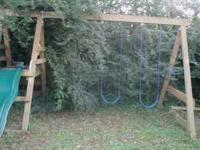 VERY NICE SWING SET I BOUGHT FROM 84 LUMBER I PAID