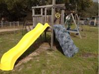 Really nice swing set all in great shape. Quick sell,