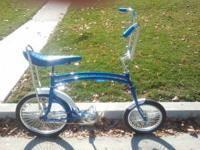 Here is a fully restored swingbike for sale. Frame and