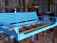 I have a swinging daybed I just finished for sale or