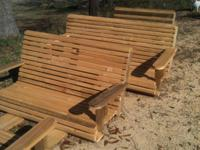 $75.00 to $125.00 Cypress swings, Very heavy built and