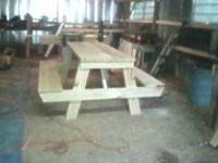 We are mfg outdoor products for your yard and deck.