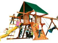 Woodplay Playset Sale - Call today .  Take 40% OFF any