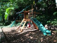 1 yr old swing set in great condition.  It is in great
