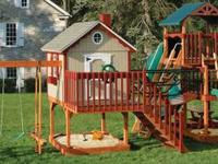 SWINGSETS AND PLAYSETS