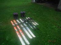 we are selling all ower ski,s  two juniors  I pair
