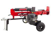 The Swisher 12.5 HP log splitter features a powerful