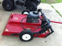 "Swisher 44"" Rough Cut Trailer Cutter pull behind mower."