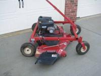 "60"" Swisher trail mower (finish mower). Garage kept."