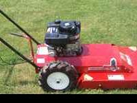 Barely used Swisher self propelled brush mower 8HP