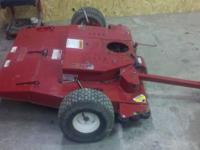 Ive got a swisher pull behind mower for sale it