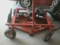 I am selling this mower for my grand dad he has a