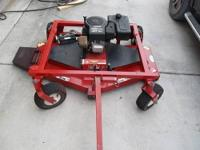 "Swisher 60"" Finish Mower Pull-type can offset offset to"