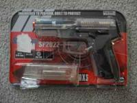 Swiss Arms Sig Sauer SP2022 Airsoft Pistol, barely