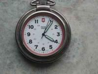 Swiss Army pocket watch $40  Location: Northglnn