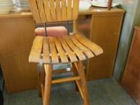 Swivel bar stool $10.  Lost n Found Thrift Store 66 N