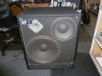 FOR SALE A SWR 1X10, 1X15 3 WAY, 400 WATT BASS CABINET.