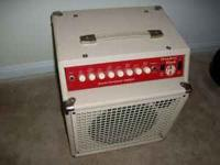 SWR strawberry blonde acoustic amp. Only played with