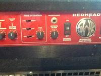 Swr redhead this is a very good amp 400watts or 650