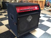 This is a great bass amp for electrical or upright