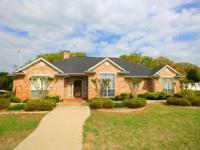 Attractive 4 BR, 3 BA home in Canton ISD on approx.