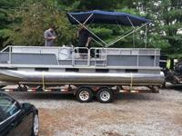 I am selling my 1990 Sylvan 24' pontoon. It has a brand